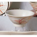Thunder Group 5780 Gold Orchid Melamine Soup Bowl 32 oz.