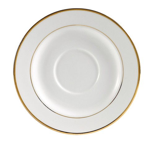 CAC China GRY-2 Golden Royal Saucer 6""