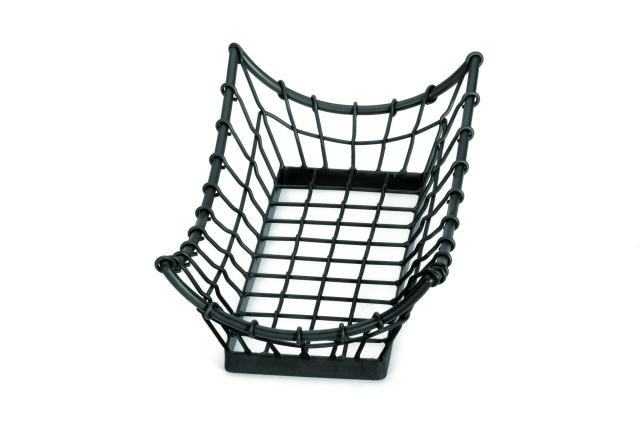 Grand Master Black Rectangle Metal Display Basket - 15