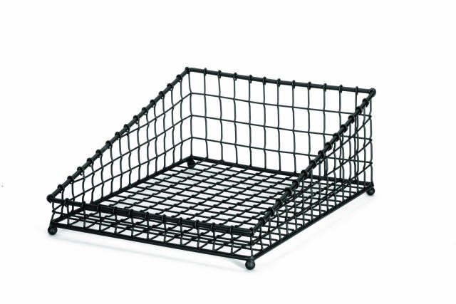 Grand Master Black Square Angled Display Basket - 15