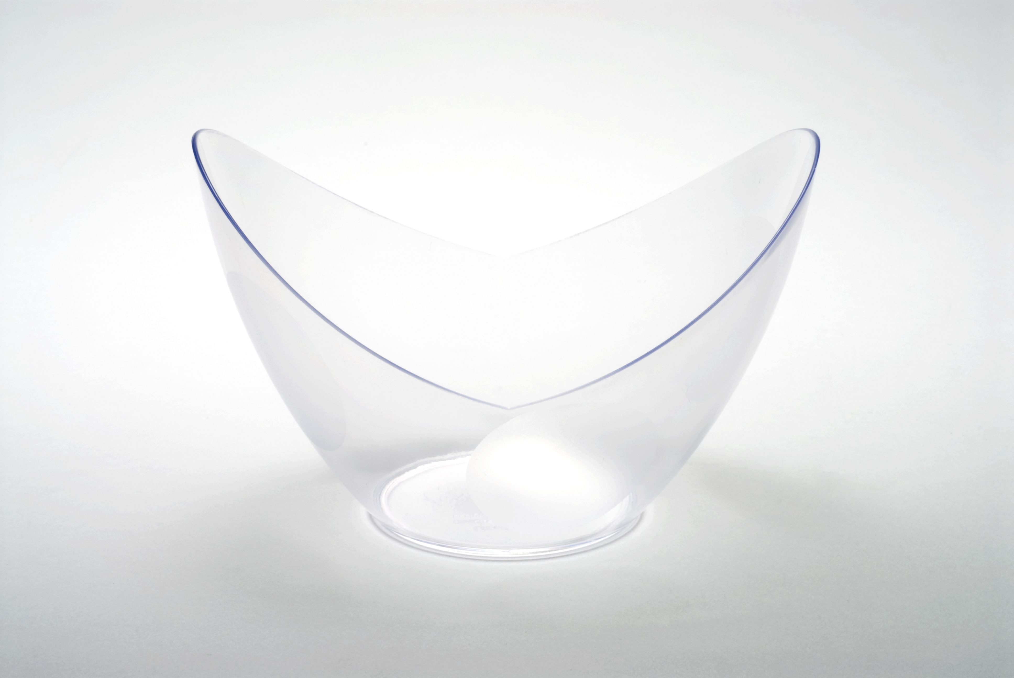 Rosseto GRAC0558 Liteware Clear Plastic Grande Bowl 6 oz. (Case Of 120)