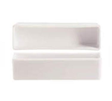 Cardinal S1055 Chef & Sommelier Purity White 2-1/2 oz. Rectangular Bowl