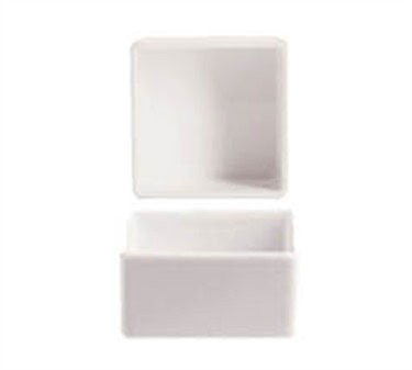 Grandes Chefs Purity 2 Oz. Square Bowl - 2-1/4