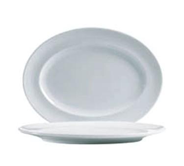 "Cardinal S1563 Arcoroc Rondo Oval Platter, 11-5/8"" x 8-3/4"" Dia."