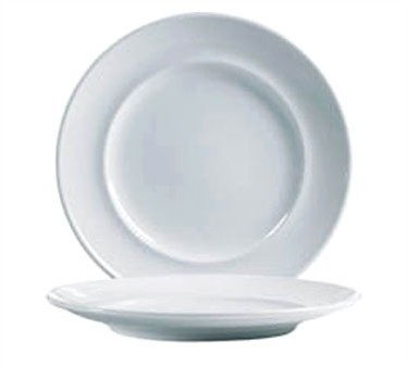 "Cardinal S1504 Arcoroc Rondo Salad/Dessert Plate 8-5/8"" Dia."