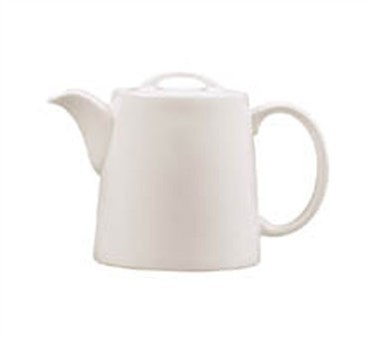 Grandes Tables Embassy White 13-1/2 Oz. Stackable Teapot