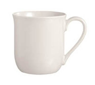 Grandes Tables Embassy White 10-1/2 Oz. Coffee Mug - 3-1/4