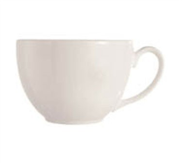 Grandes Tables Embassy White 8 Oz. Coffee/Tea Cup - 2-3/4