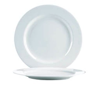 "Cardinal S0101 Chef & Sommelier Embassy White Service Plate 12"" Dia."