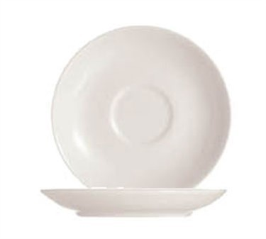 "Cardinal S0133 Chef & Sommelier Embassy White Saucer/Bouillon Saucer, 6"" Dia."