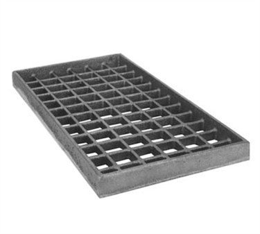 Grate, Bottom (Cast Iron, 8X15 )