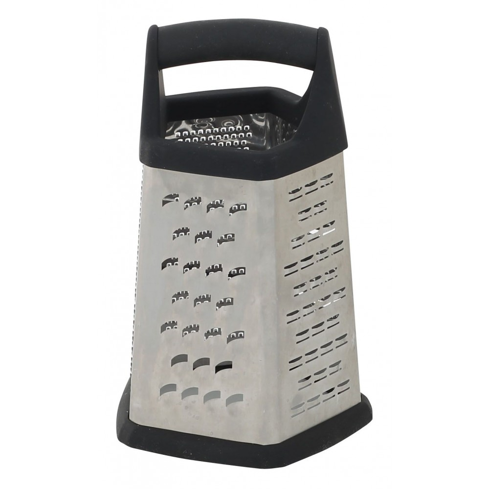 Grater 401 - 5 Sides Grater (Slicer/Medium Coarse/Zester/Fine/Ribbon)