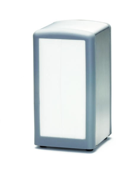 Gray Full Size Napkin Dispenser - 4-5/8