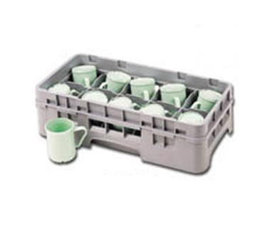 Franklin Machine Products  247-1158 Gray Half-Size Glass Rack (Holds 17 Glasses)