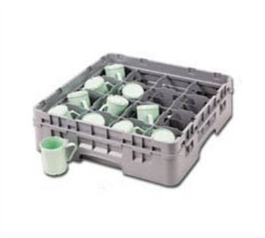 Franklin Machine Products  247-1159 Gray Half-Size Glass Rack (Holds 16 Glasses)