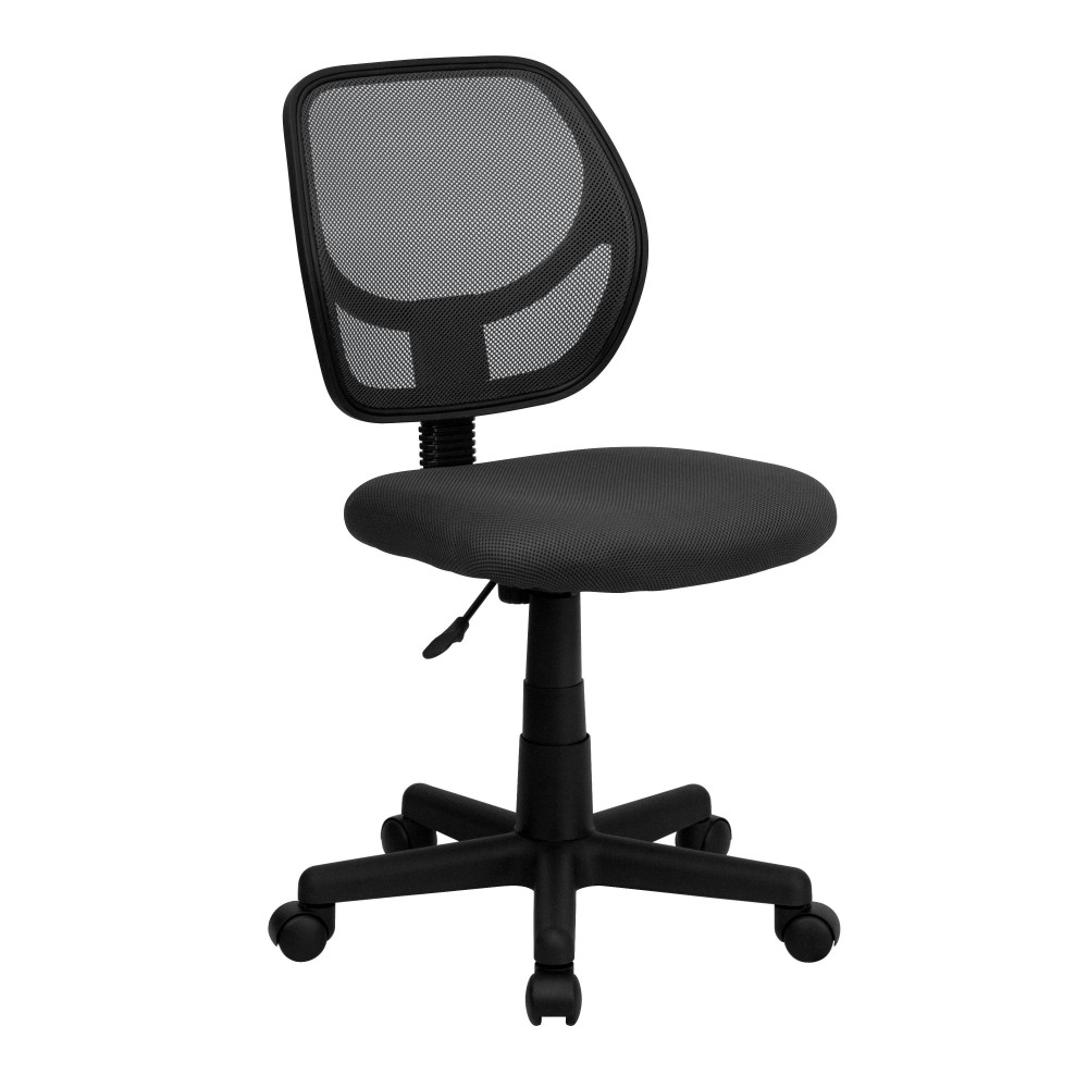 Flash Furniture WA-3074-GY-GG Gray Mesh Computer Chair