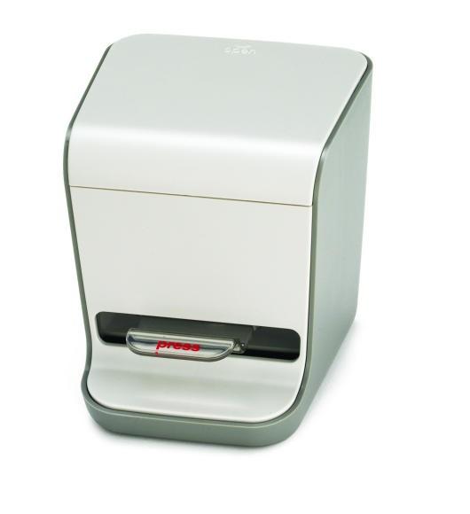 "TableCraft 336P Gray Plastic Toothpick Dispenser 3-1/2"" x 3-1/4"" x 3-1/2"""