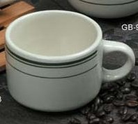 """Yanco GB-23 Green Band 3"""" Stacking Cup 7 oz."""