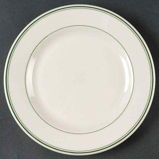 "Yanco GB-6 Green Band 6 5/8"" Plate"