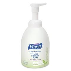 Green Certified Instant Hand Sanitizer Foam, 18 oz Bottle