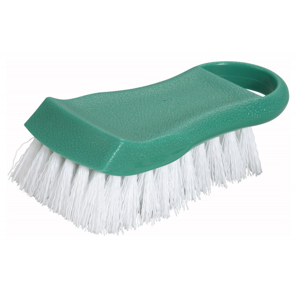 Green Cutting Board Brush