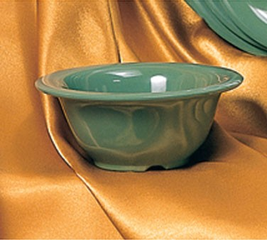 Thunder Group CR5510GR Green Melamine 10 oz. Soup Bowl 5-3/8""