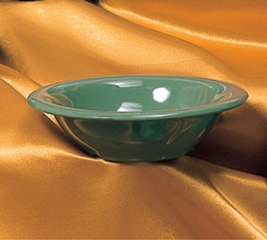 Thunder Group CR5712GR Green Melamine 12 oz. Soup Bowl 7-1/2""