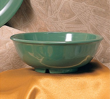 Green Melamine 24 Oz. Salad Bowl - 7-1/2