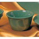 Thunder Group CR303GR Green Melamine 7 oz. Bouillon Cup 4""