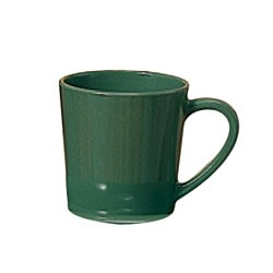 Thunder Group CR9018GR Green Melamine 7 oz. Mug/Cup