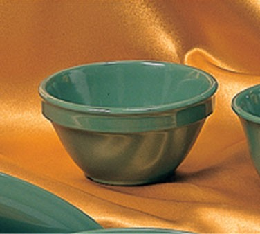 Green Melamine 8 Oz. Bouillon Cup - 4-1/4