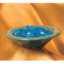 Thunder Group CR5608GR Green Melamine 8 oz. Salad Bowl