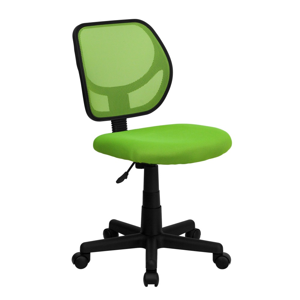 Flash Furniture WA-3074-GN-GG Green Mesh Computer Chair