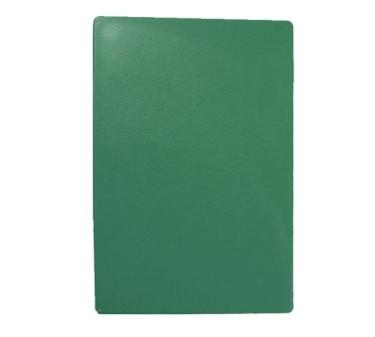 """TableCraft CB1520GNA Green Polyethylene Cutting Board 15"""" x 20"""" x 1/2"""""""