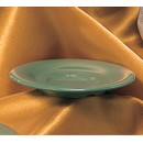 "Thunder Group CR9108GR Green Melamine 5-1/2"" Saucer for CR313, CR5044, ML901, ML9011"