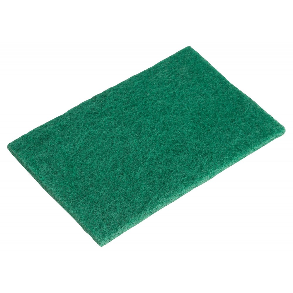 Green Scouring Pad Pack - 6 X 8-3/8