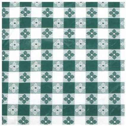 Green Square Table Cloth - 52 X 52