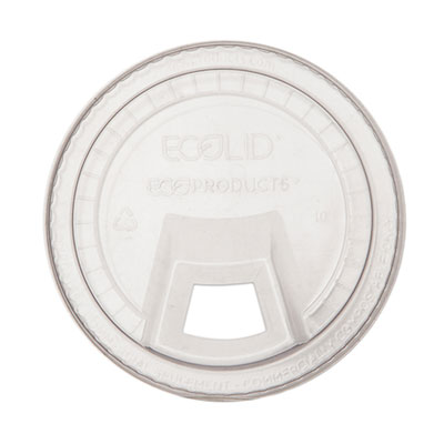 GreenStripe Cold Cup Sip Lid, Fits 9-24 oz. Cups, Clear, 1000/Carton