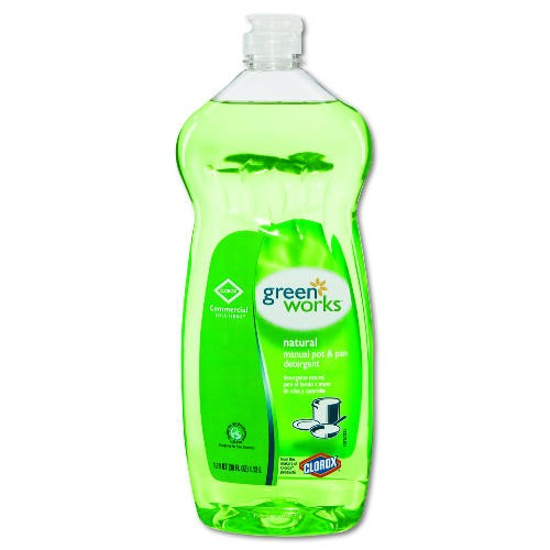 GreenWorks Natural Pot & Pan Dishwashing Liquid, 38 Oz Bottles