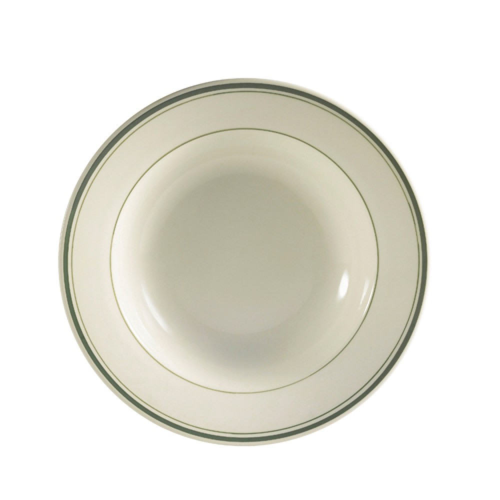 CAC China GS-105 Greenbrier Pasta Bowl 16 oz.