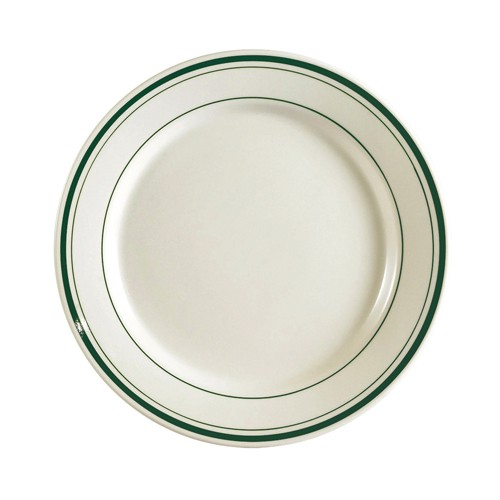 Greenbrier Plate Rolled Edge 6 1/4