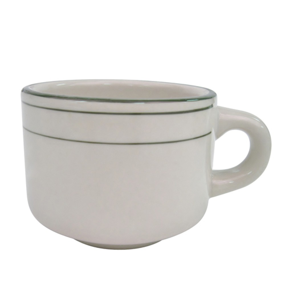 CAC China GS-23 Greenbrier Stacking Cup 7 oz.