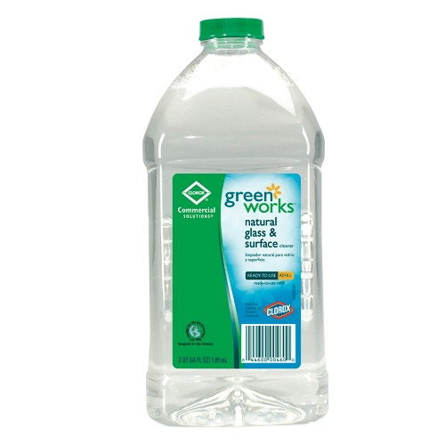 Greenworks Glass Surface Cleaner Refill, 64 Oz