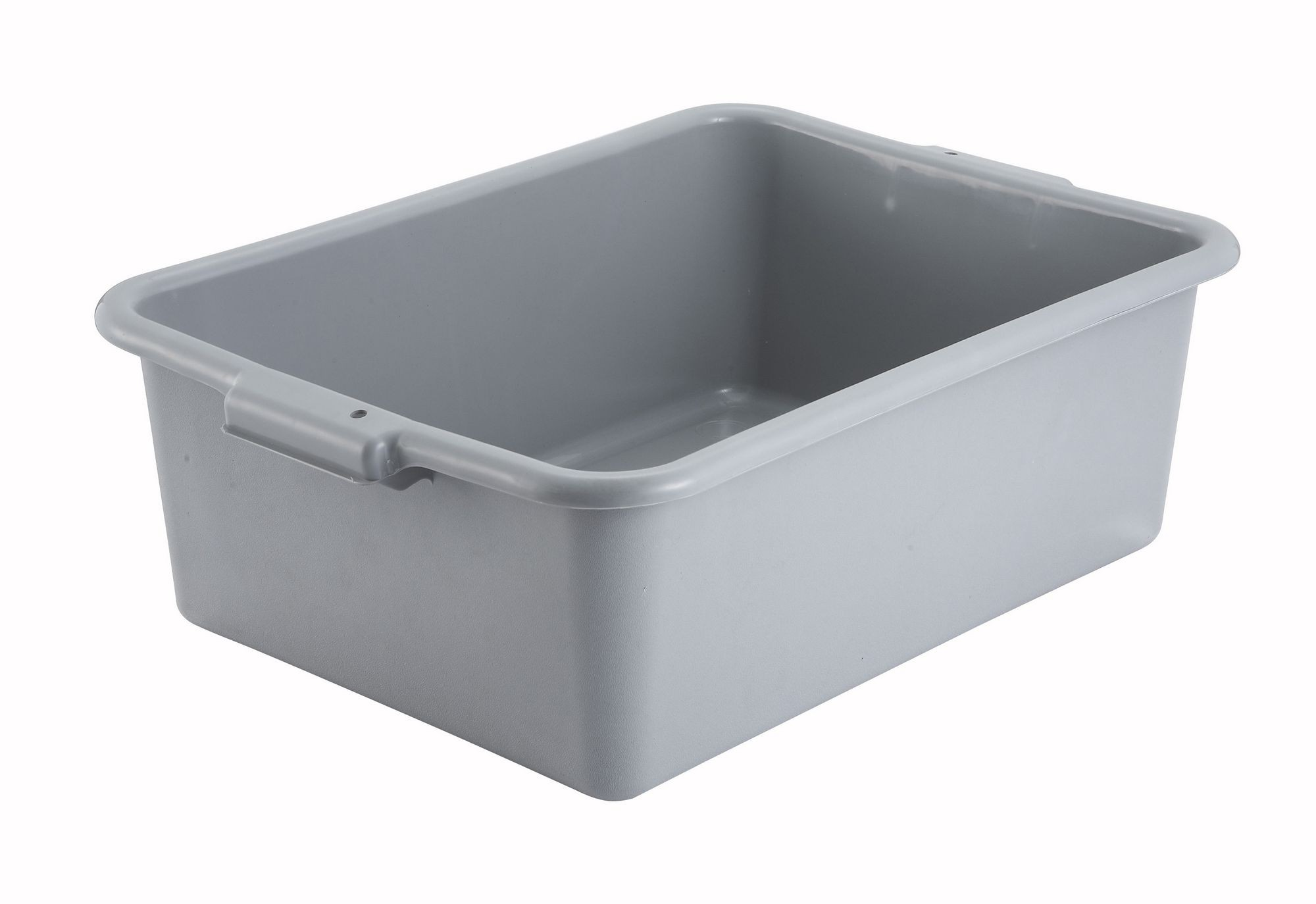Grey Dish Box - 20-1/4 x 15-1/2 x 7 (Lid not included)