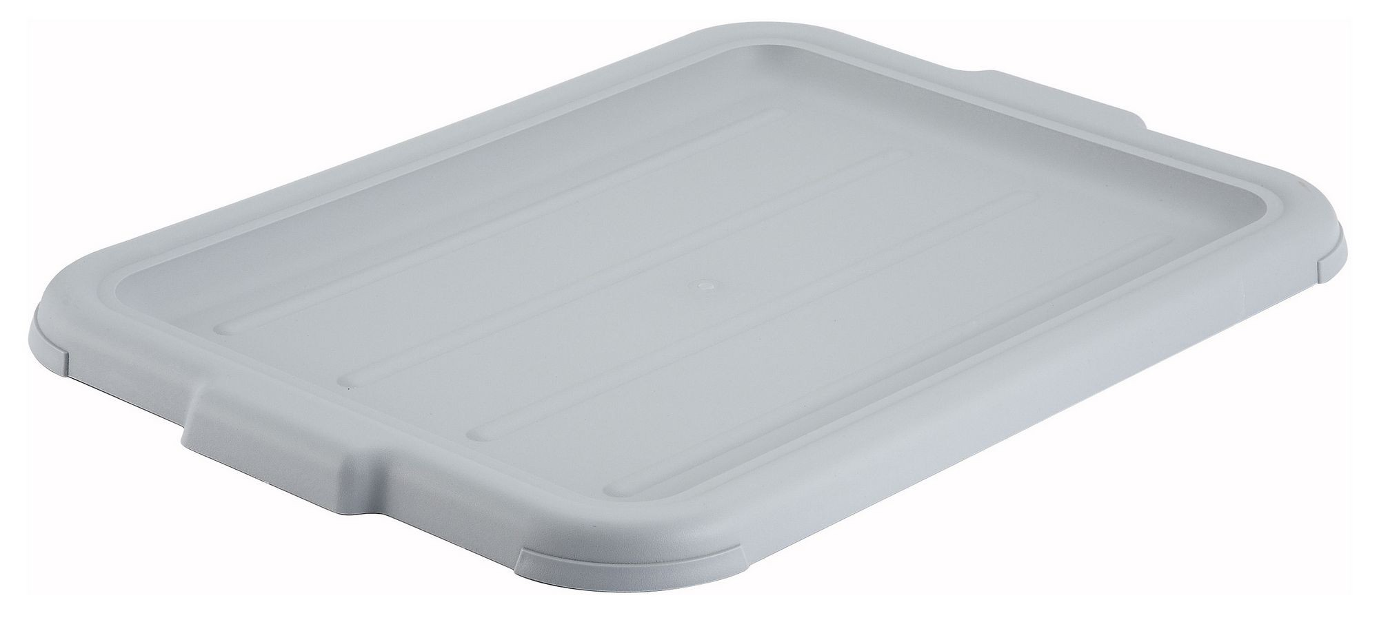 Winco PL-57C Grey Dish Box Cover
