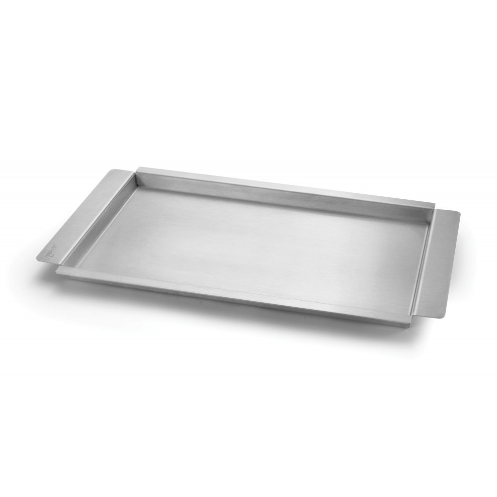 "Rosseto SM217 Stainless Steel Griddle & Flatbread Tray for Multi-Chef Warmer 23"" x 13.25"" x 1"""