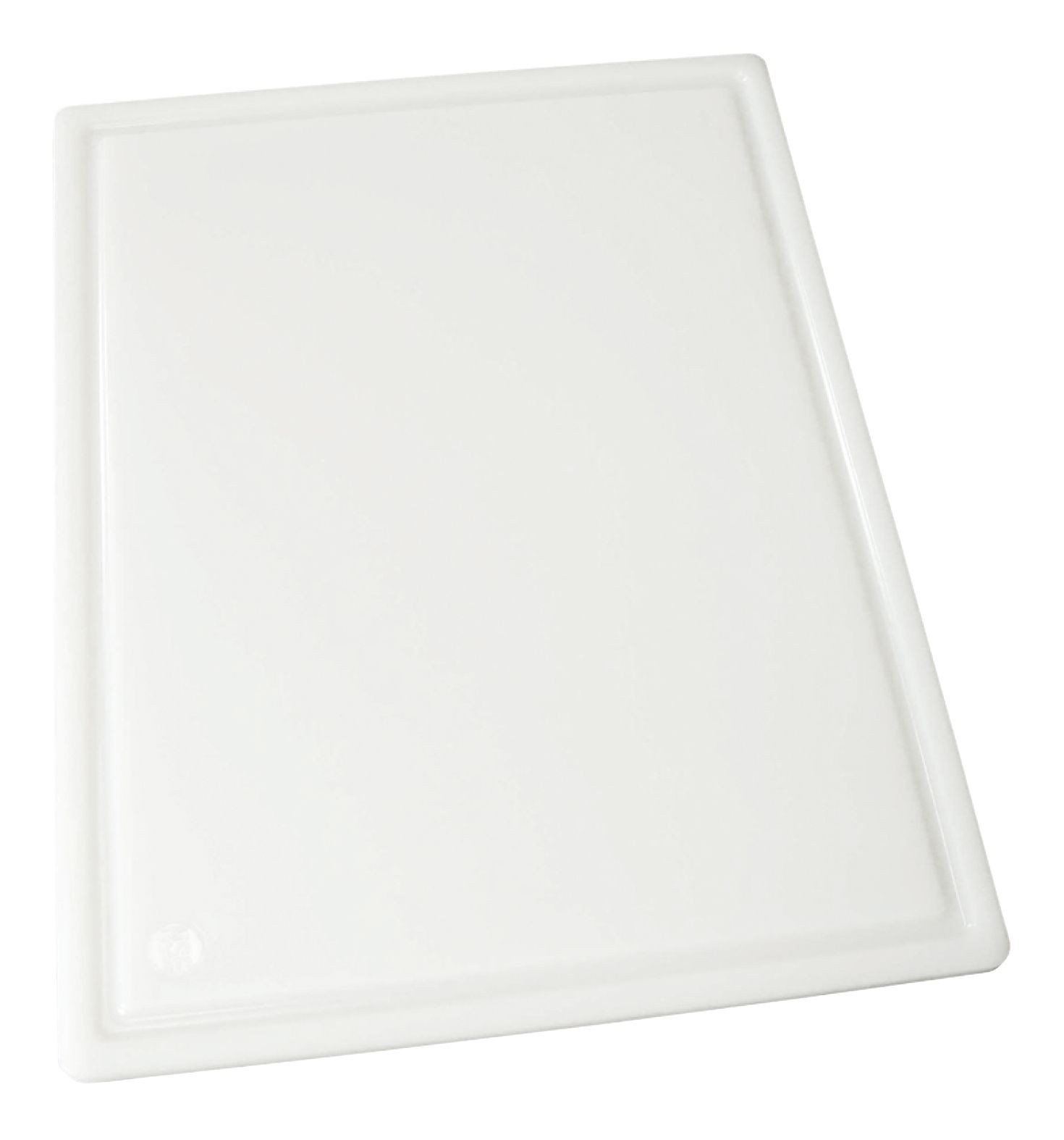 Grooved Cutting Board 12 X 18 X 1/2 White (Bakery & Dairy Board)