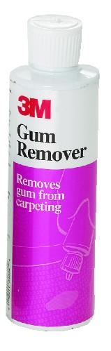 3M Gum Remover, Orange Scent, Liquid, 8 oz., 6/Carton