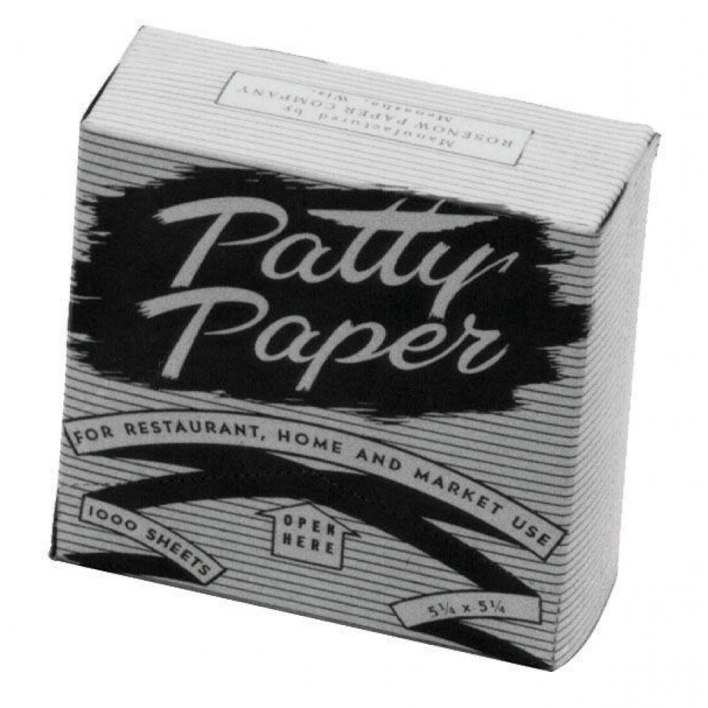 "Johnson-Rose 3668 Hamburger Patty Paper, 5-1/4"" X 5-1/4"""
