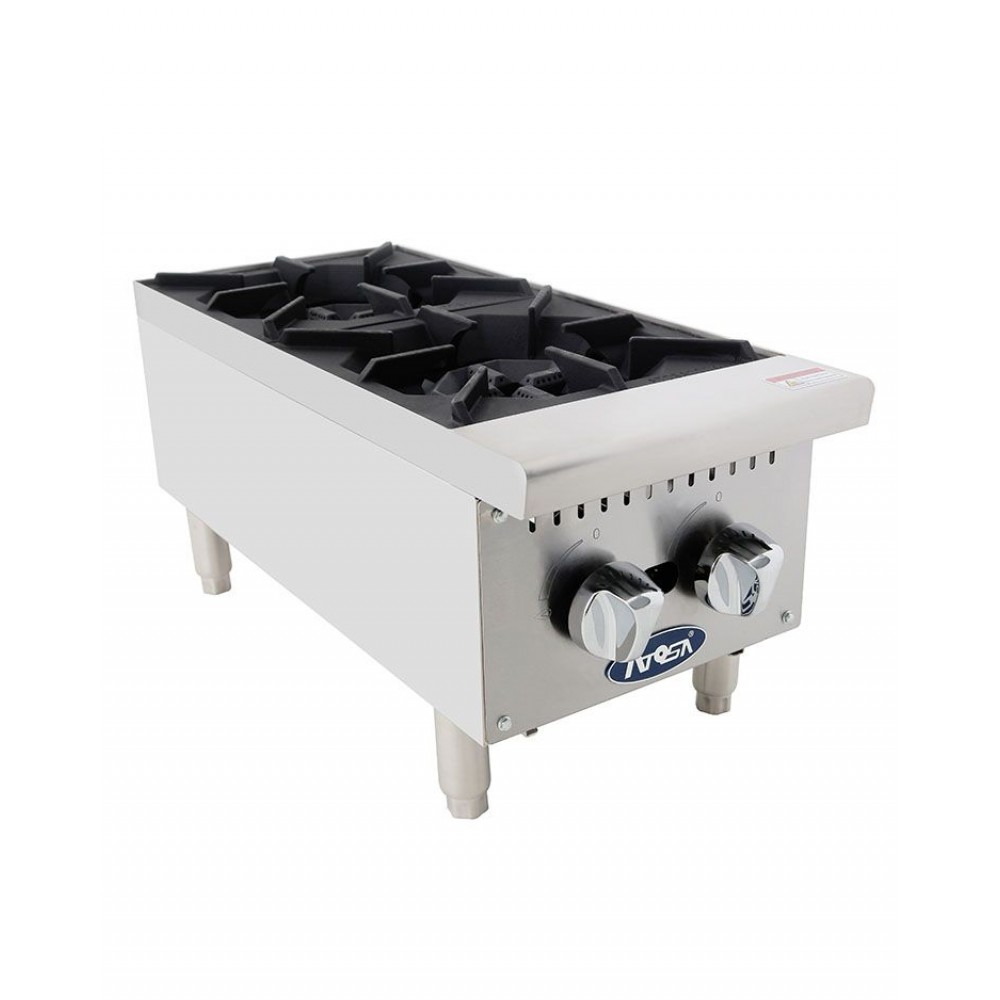 HD 12'' Two Burner Hotplate